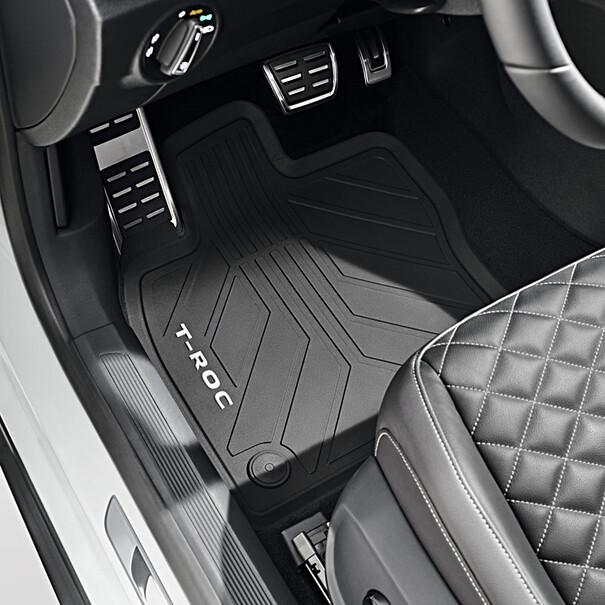 Volkswagen All-weather mattenset T-Roc, voor + achter