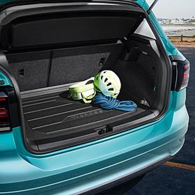 Volkswagen Kofferbakinleg T-Cross, met vaste laadvloer
