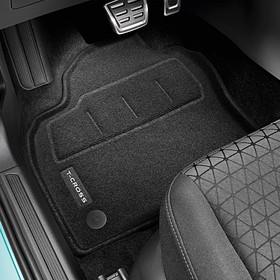 Volkswagen Optimat mattenset T-Cross, voor + achter