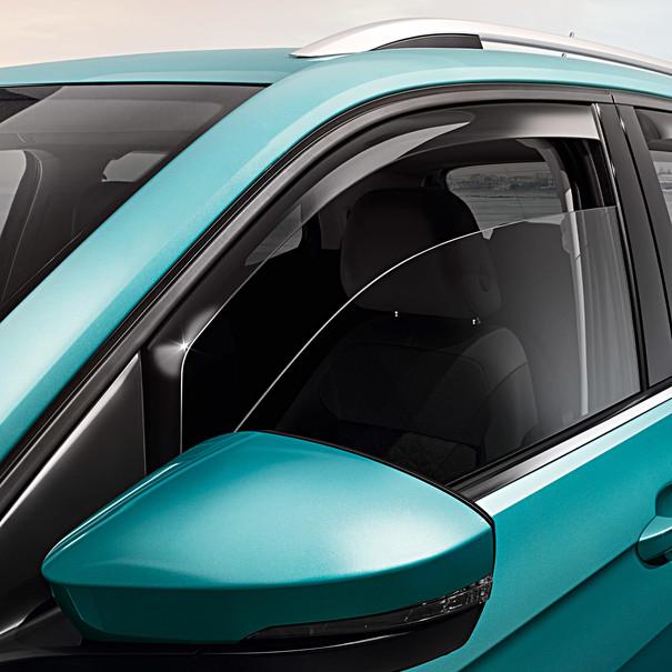 Volkswagen Windgeleiders T-Cross, voorportieren