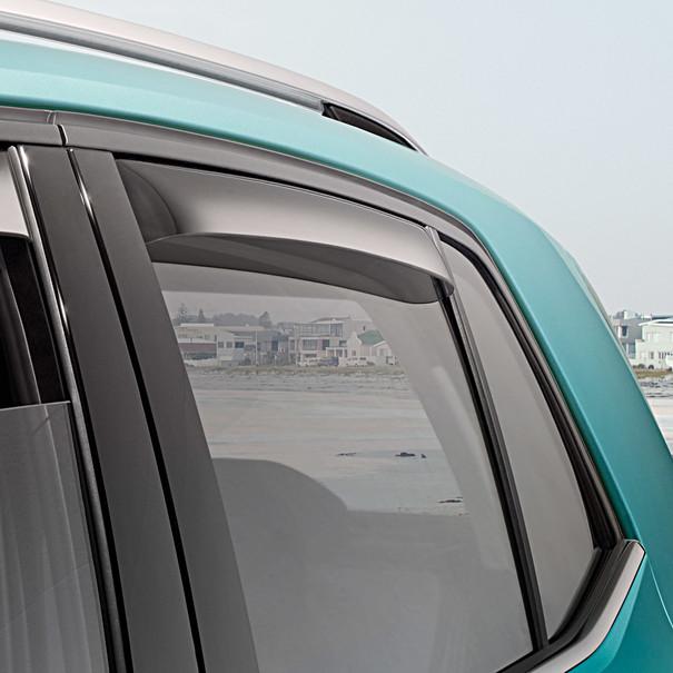Volkswagen Windgeleiders T-Cross, achterportieren