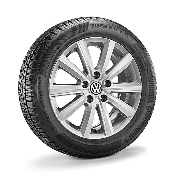 Volkswagen 16 inch lichtmetalen winterset Merano, T-Cross