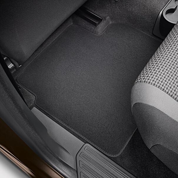 Volkswagen Velours mattenset Amarok, achter