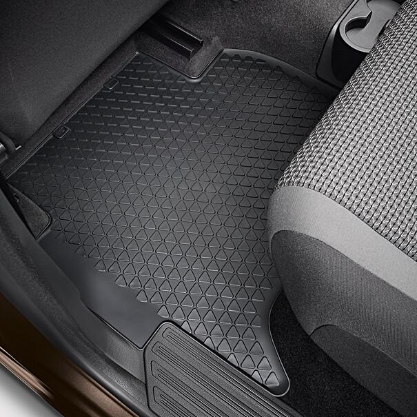 Volkswagen All-weather mattenset Amarok, achterzijde
