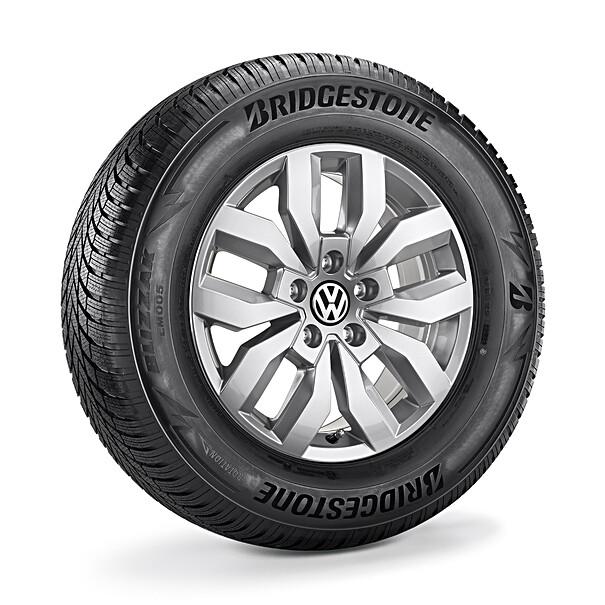 Volkswagen 17 inch lichtmetalen winterset Rocadura, Amarok