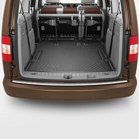 Volkswagen Achterbumper beschermlijst RVS look, Caddy