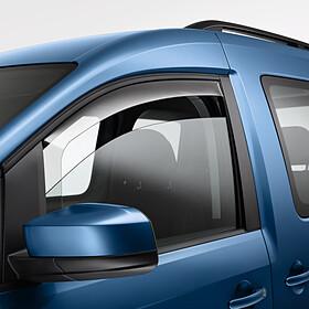 Volkswagen Windgeleiders Caddy, voorportieren
