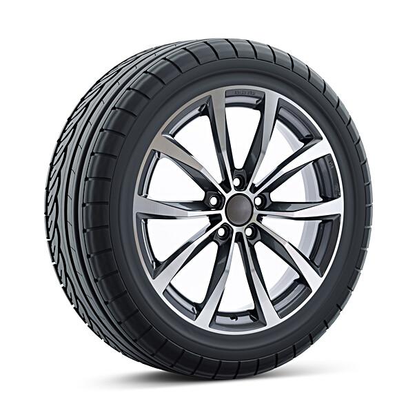 Volkswagen 16 inch lichtmetalen zomerset, MAK Wolf