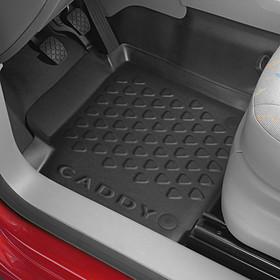 Volkswagen Rubberen mat Caddy, bestuurders zijde