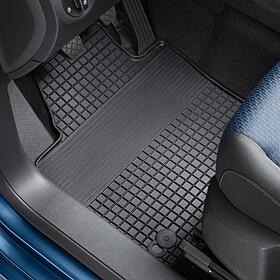 Volkswagen All-weather mattenset Caddy Combi, voor + achter