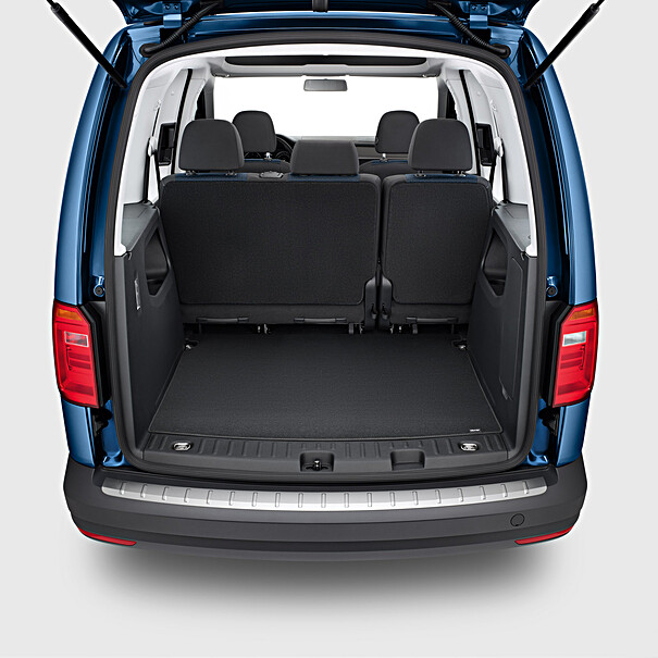 Volkswagen Achterbumper beschermlijst RVS, Caddy