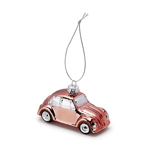 Volkswagen Beetle kerstbal, koper