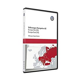 Volkswagen Navigatie update, Oost-Europa (V8)