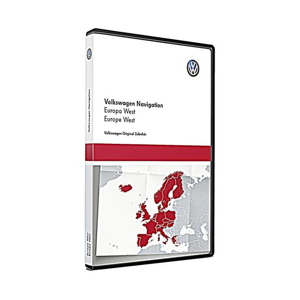 Volkswagen Navigatie update, West-Europa (V11)