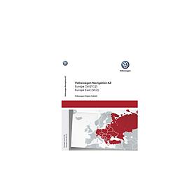 Volkswagen Navigatie update, Oost-Europa (V12)