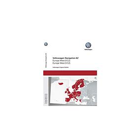 Volkswagen Navigatie update, West-Europa (V12)