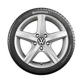 Volkswagen 16 inch lichtmetalen winterset Aspen, Passat