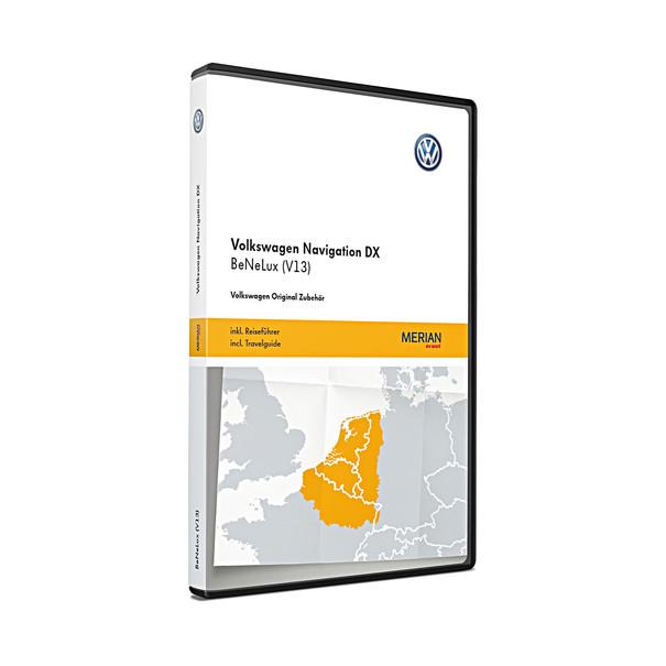 Volkswagen Navigatie update, RNS CD, Benelux (V13)