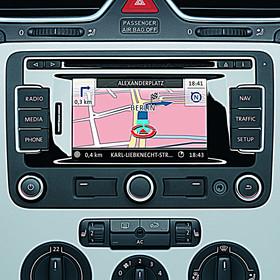 Volkswagen Navigatie SD kaart FX-platform, West-Europa V10
