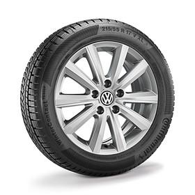 Volkswagen 17 inch lichtmetalen winterset Merano, Passat