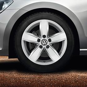 Volkswagen 17 inch lichtmetalen winterset, Corvara