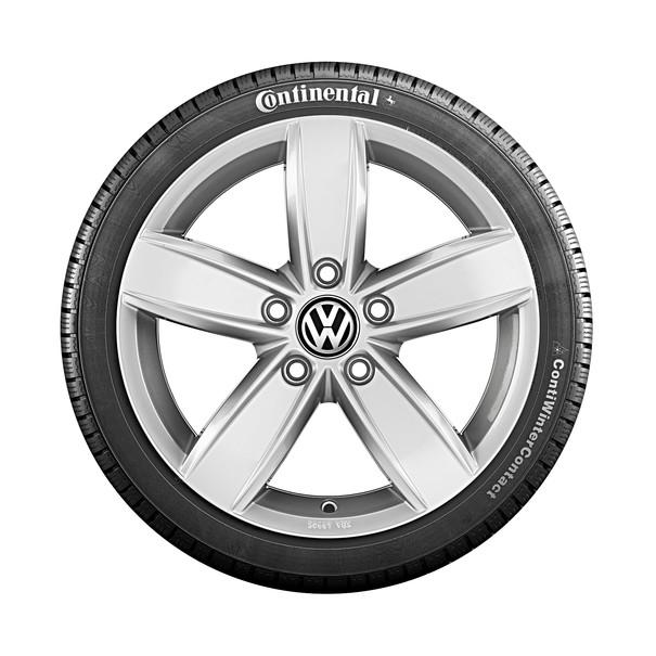 Volkswagen 16 inch lichtmetalen winterset Corvara, Passat