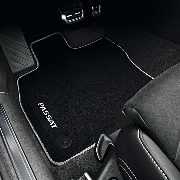 Volkswagen Velours mattenset Passat, voor + achter
