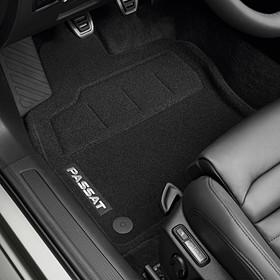 Volkswagen Optimat mattenset Passat, met opschrift, voor + achter