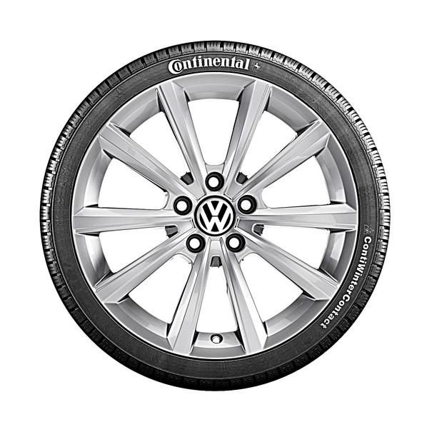 Volkswagen 17 inch lichtmetalen winterset Merano, zefldichtend, Arteon