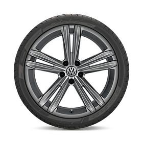 Volkswagen 18 inch lichtmetalen zomerset, zelfdichtend, Sebring