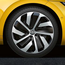Volkswagen 19 inch lichtmetalen zomerset, zelfdichtend, Montevideo