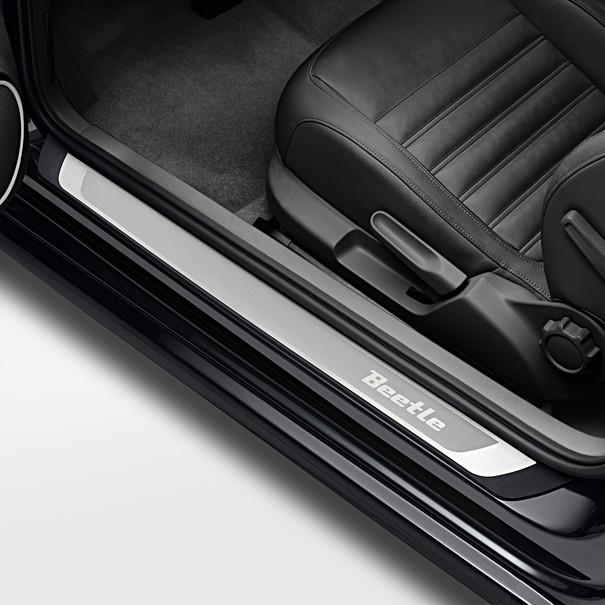 Volkswagen Instaplijsten Beetle, met 'Beetle' opschrift