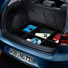 Volkswagen bagegeruimte kuip met vakverdeling