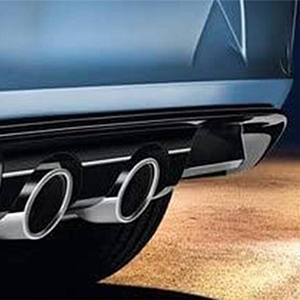 Volkswagen Diffuser, voor dubbele centrale uitlaat