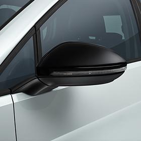 Volkswagen Spiegelkappen hoogglans zwart