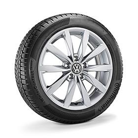 Volkswagen 17 inch lichtmetalen winterset Dijon, Golf