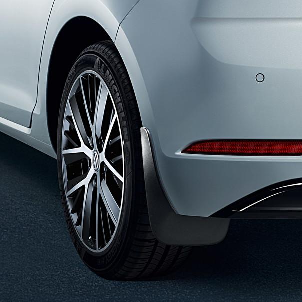 Volkswagen Spatlappen Golf, achter
