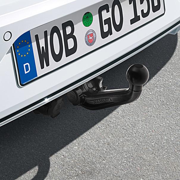 Volkswagen Afneembare trekhaak Golf (7) zonder trekhaak voorbereiding, inclusief 13-polige kabelset