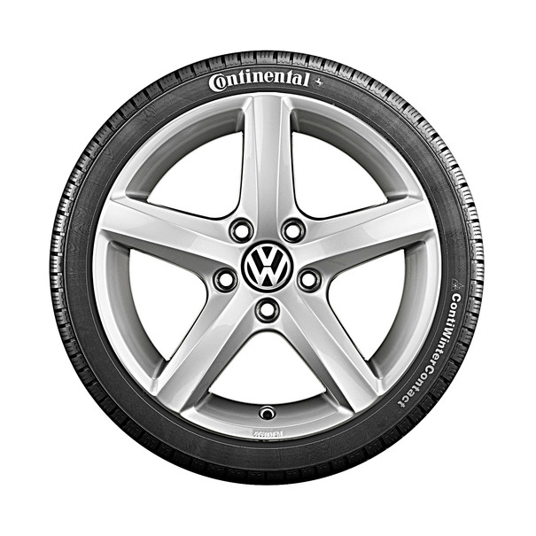 Volkswagen 15 inch lichtmetalen winterset Aspen, Golf