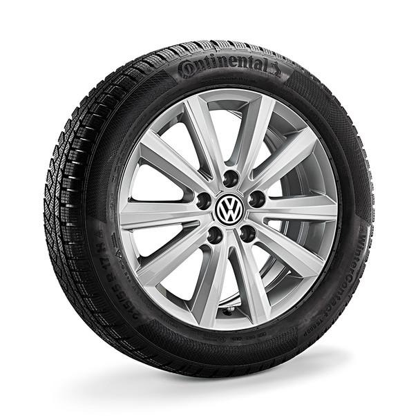 Volkswagen 15 inch lichtmetalen winterset Merano, Golf en Golf Variant