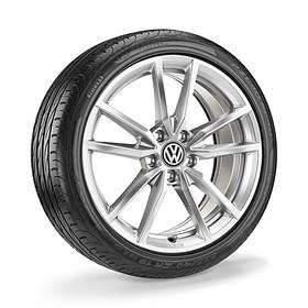 Volkswagen 18 inch lichtmetalen zomerset, Pretoria zilver
