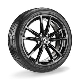 Volkswagen 18 inch lichtmetalen zomerset, Pretoria zwart