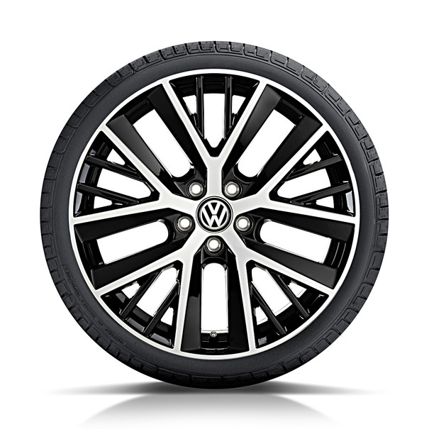 Volkswagen 19 inch lichtmetalen zomerset, Twinspoke