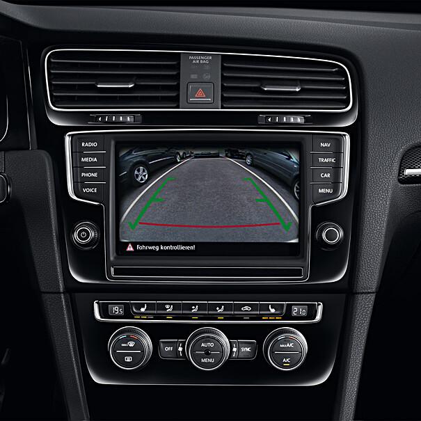 Volkswagen Achteruitrijcamerasysteem, Golf 7
