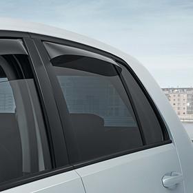 Volkswagen Windgeleiders Golf, achterportieren