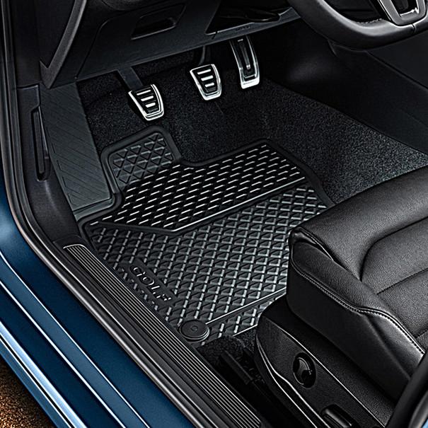 Volkswagen Rubberen mattenset e-Golf, voor + achter