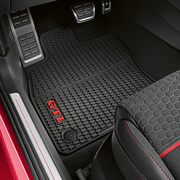 Volkswagen All-weather mattenset Golf GTI (7), voor en achterzijde