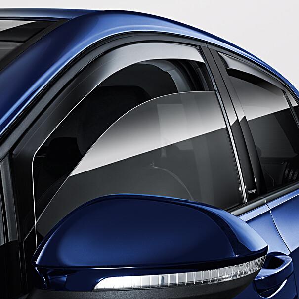 Volkswagen Windgeleiders Golf, voorportieren