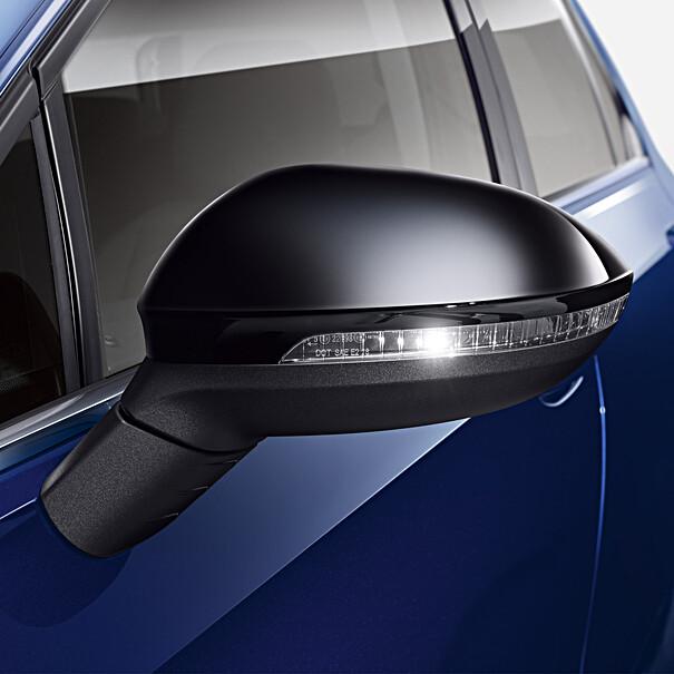 Volkswagen Spiegelkappen zwart
