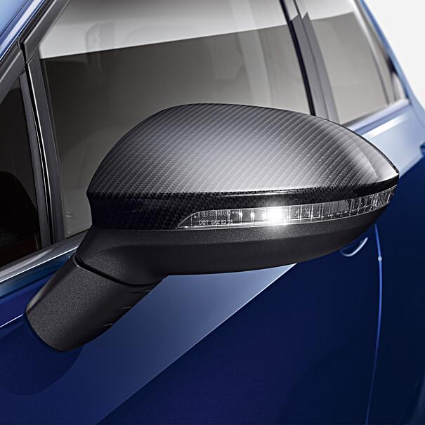 Volkswagen Spiegelkappen carbon look